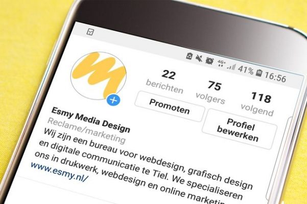 Instagram als marketingstool? | Esmy Media Design | Social Media