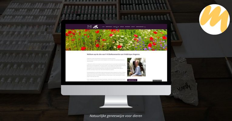 F-Hbioresonantie | Webdesign door Esmy Media Design