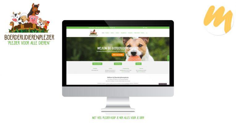 Boerderijdierenplezier te Nieuwkoop | Huisstijl en webdesign door Esmy Media Design te Tiel