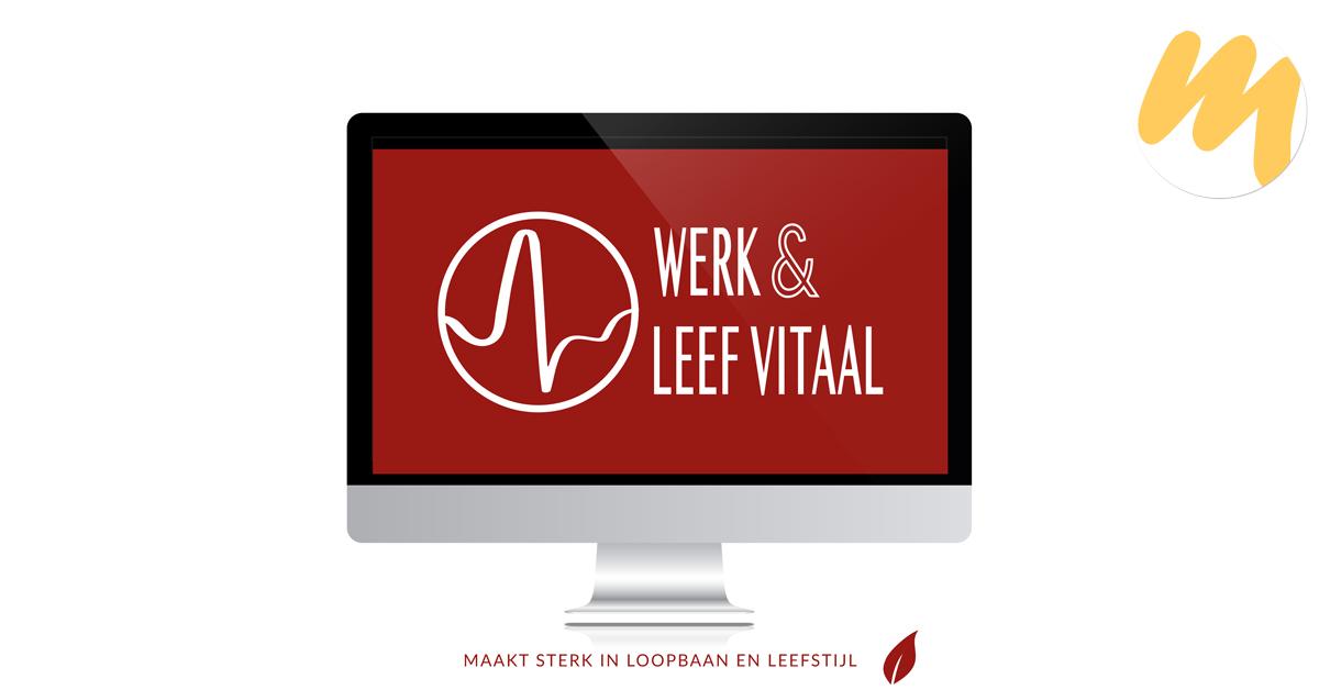 Werk & Leef Vitaal | Logo design door Esmy Media Design voor al uw grafisch ontwerp te Tiel