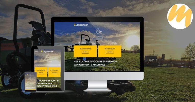 Logpartner | Webdesign en SEO teksten door Esmy Media Design voor al uw grafisch ontwerp te Tiel