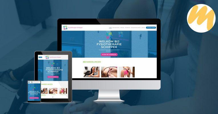 Fysiotherapie Schipper te Beesd | Website door Esmy Media Design | Grafisch ontwerp Tiel