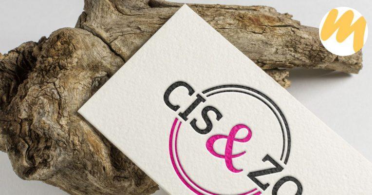 Cis & Zo | Voor al uw maatwerk woondecoratie | Logo ontwerp door Esmy Media Design in Tiel