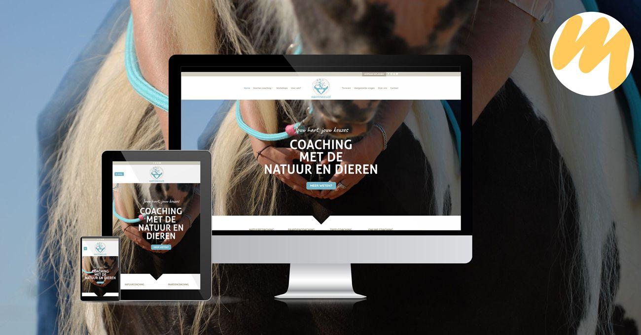Hartenkeuze, website ontwerp, grafisch design, Esmy Media Design Betuwe, Gelderland, Tiel