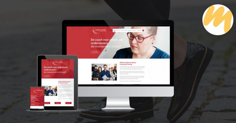 Webdesign Tiel | Maren Spanjer Coaching & Trainingen, website ontwerp, grafisch design, Esmy Media Design Betuwe, webdesign Gelderland