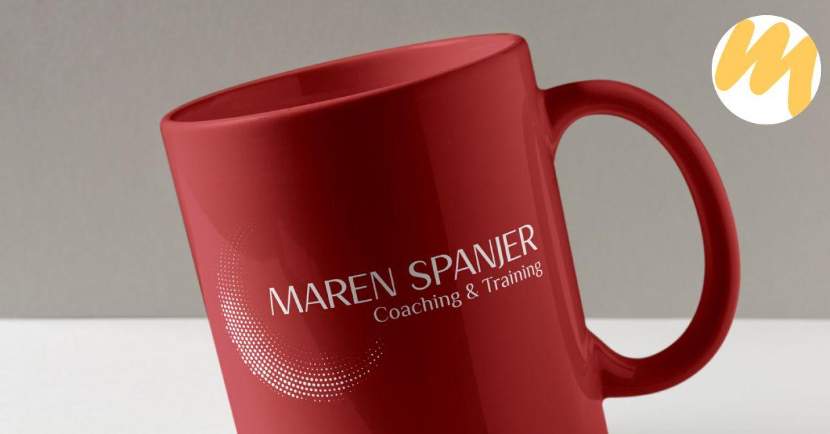 Maren Spanjer Coaching & Trainingen, Logo ontwerp, grafisch design, Esmy Media Design Betuwe, Gelderland, Tiel