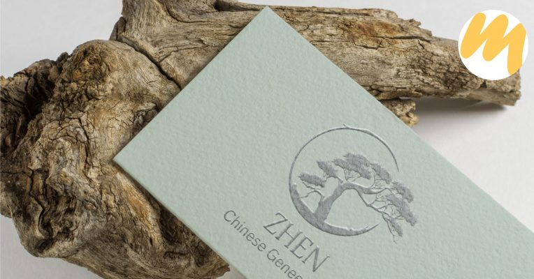 Zhen Chinese Geneeswijze, logo ontwerp, grafisch design, Esmy Media Design Betuwe, Gelderland, Webdesign Tiel, Wadenoijen
