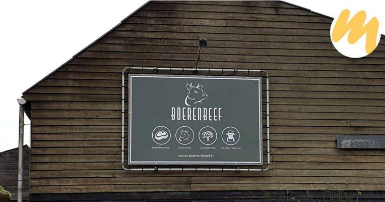 Spandoek Tiel | BoerenBeef te Nieuw Balinge, Drenthe | Huisstijl en grafisch ontwerp door Esmy Media Design