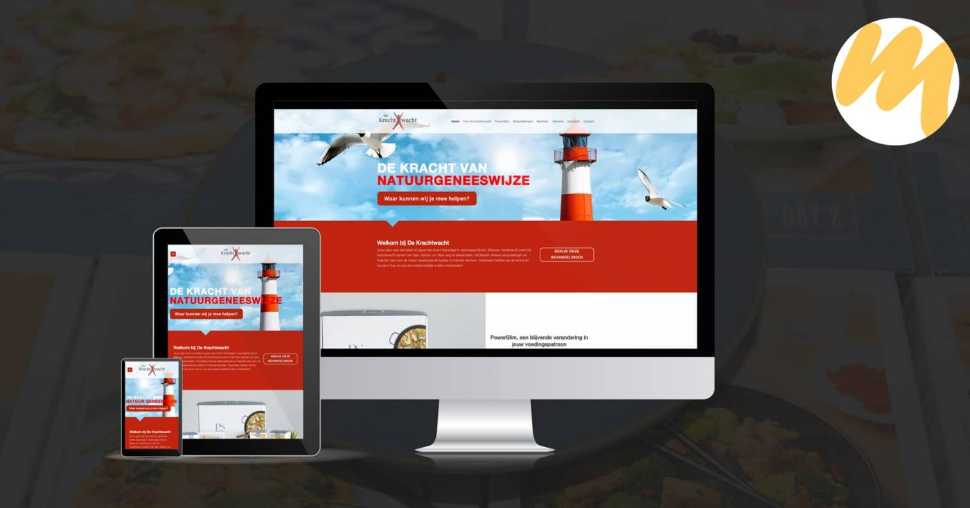 De Krachtwacht te Buren | Webdesign door Esmy Media Design te Tiel