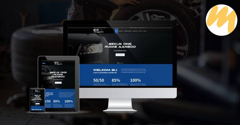 Car Cleaning Andelst | Webdesign door Esmy Media Design te Tiel