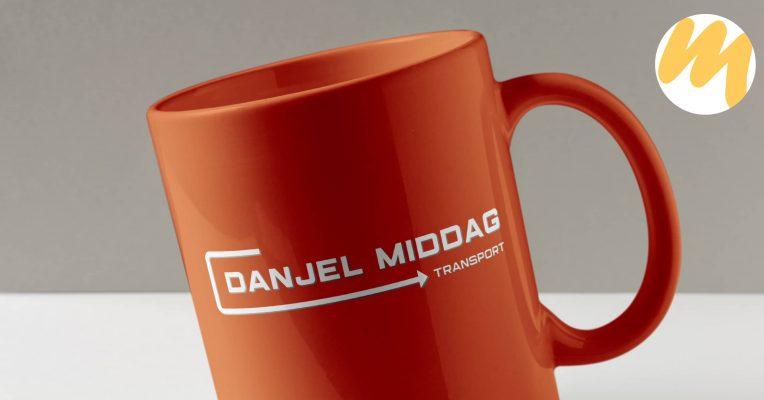 Logo Tiel | Danjel Middag Transport Waddenoijen, logo ontwerp, grafisch design, Esmy Media Design Betuwe, Webdesign Gelderland