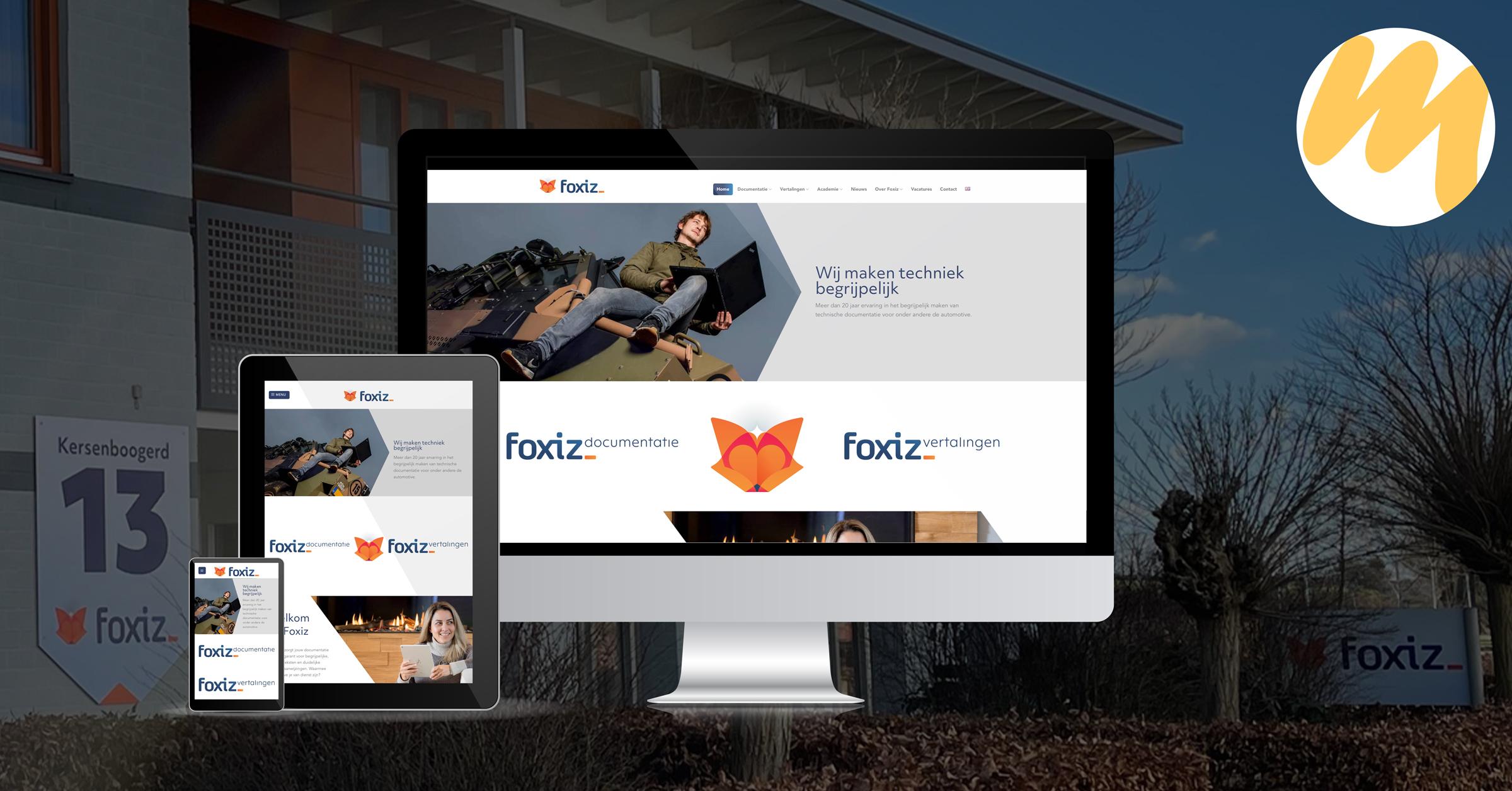 Foxiz bv te Tiel | Webdesign door Esmy Media Design | Webdesign Tiel