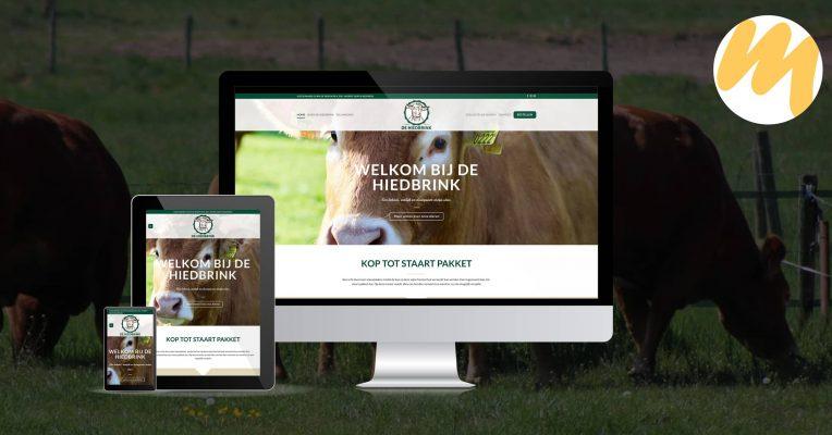 Webdesign | De Hiedbrink