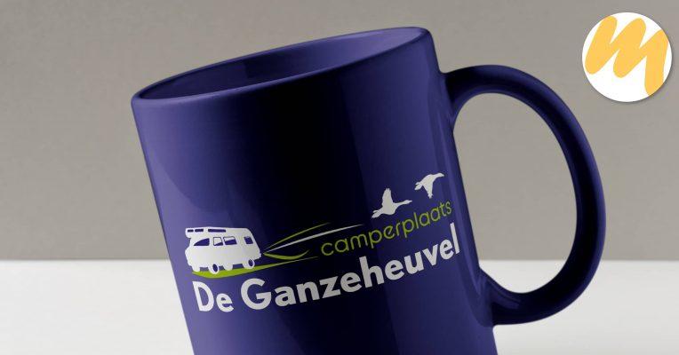 Logo Tiel | Camperplaats De Ganzeheuvel Dreumel | Huisstijl en grafisch ontwerp door Esmy Media Design