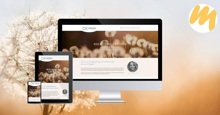 Website | Gréfidès Culemborg | Webdesign door Esmy Media Design te Tiel